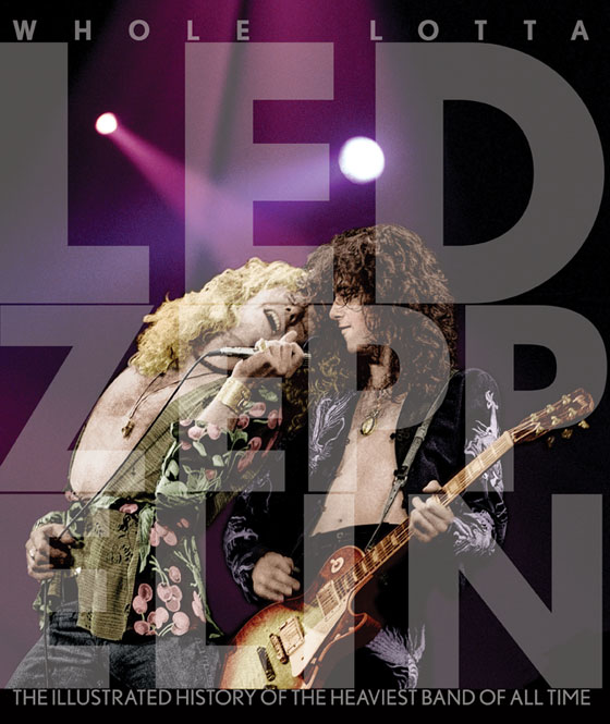 Whole Lotta Led Zeppelin Book Cover