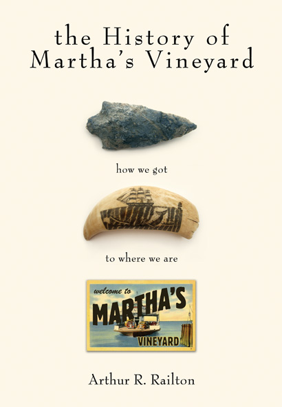 The History of Martha's Vineyard Book Cover